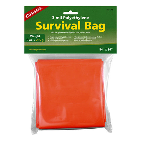 Coghlans Emergency Survival Bag - Nalno.com Outdoor Equipment