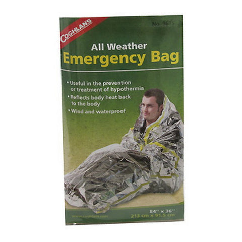 Coghlans All-Weather Emergency Bag - Nalno.com Outdoor Equipment