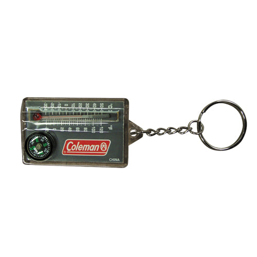Coleman Compass n Thermometer Zipper Pull