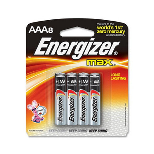 Energizer Max AAA Batteries 4 pack - Nalno.com Outdoor Equipment