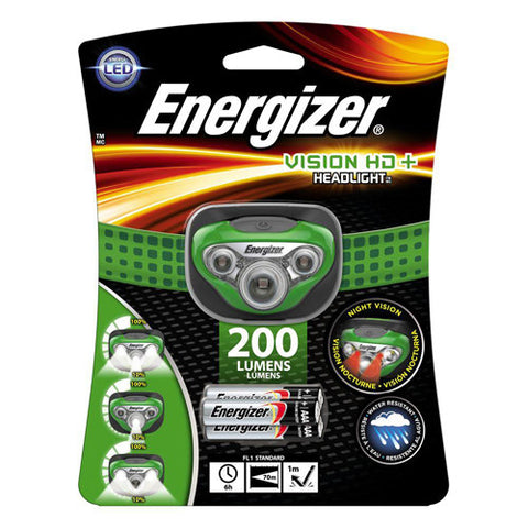 Energizer Vision Headlamp 200 Lumens - Nalno.com Outdoor Equipment