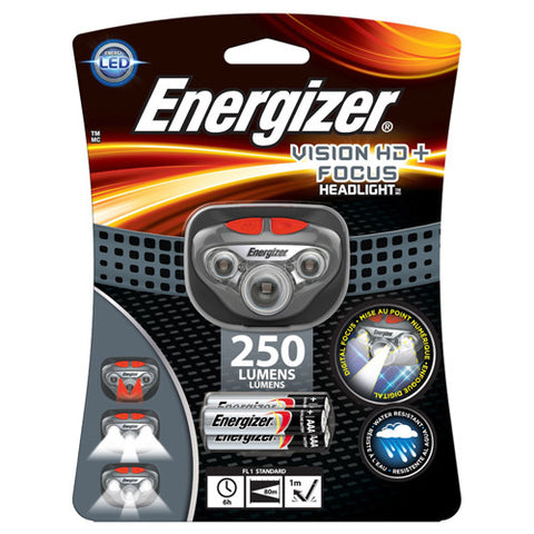 Energizer Vision Headlamp 250 Lumens - Nalno.com Outdoor Equipment