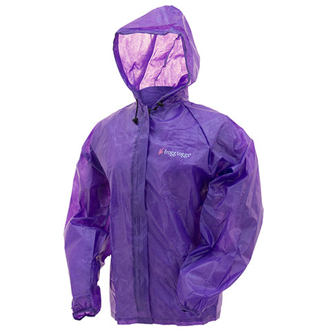 Frogg Toggs Women Emergency Jacket Med