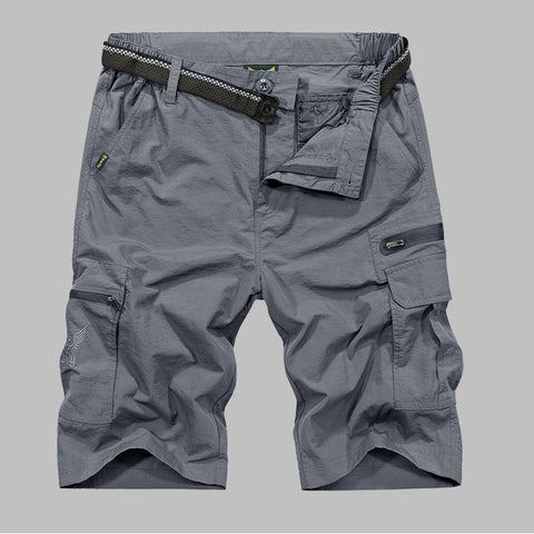 Outdoors Lightweight Polyester Shorts
