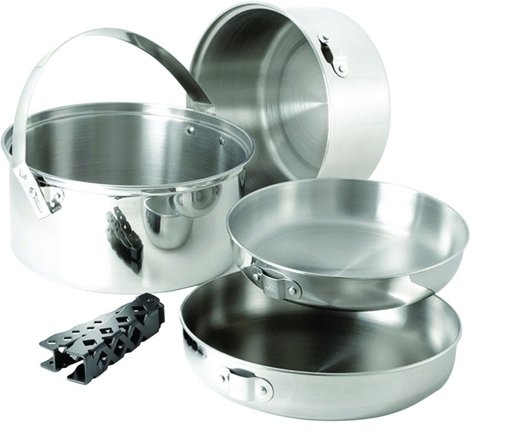 GSI Glacier Stainless Cookset (Large)