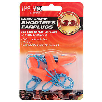 Howard Leigh Super Leigh 3 pack Ear Plugs