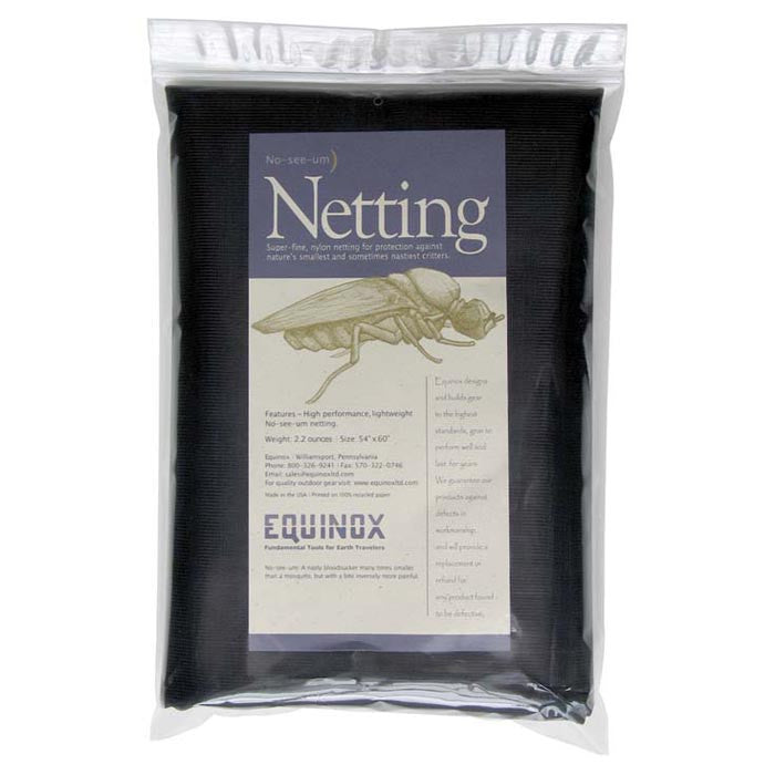 Equinox No-See-Um Mosquito Netting - Nalno.com Outdoor Equipment