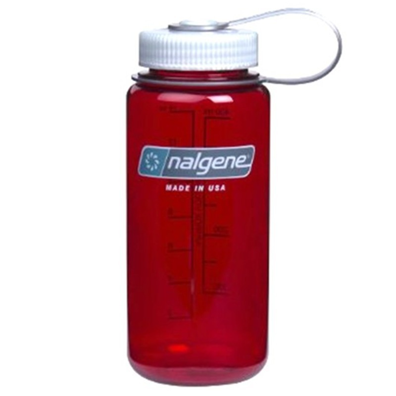 Nalgene 500ml Wide Mouth Outdoor Red