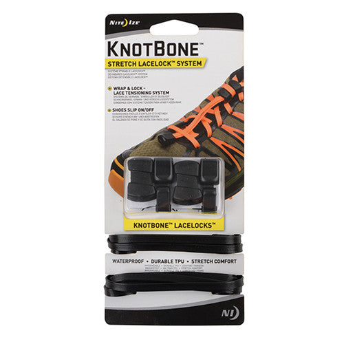 Nite Ize KnotBone Stretch LaceLock System - Nalno.com Outdoor Equipment
