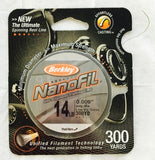 Berkley NanoFil Braided Line
