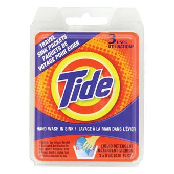Tide Travel Sink Packets - Nalno.com Outdoor Equipment