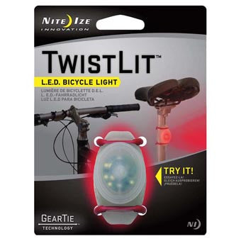 Nite Ize TwistLit Bicycle Light - Nalno.com Outdoor Equipment