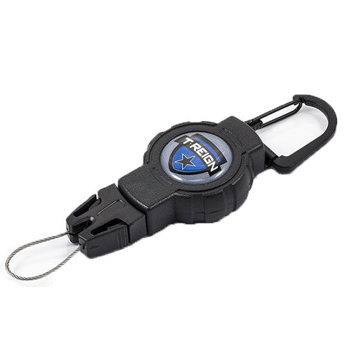 T-Reign Small Retractable Gear Tether (Fishing) Carabiner