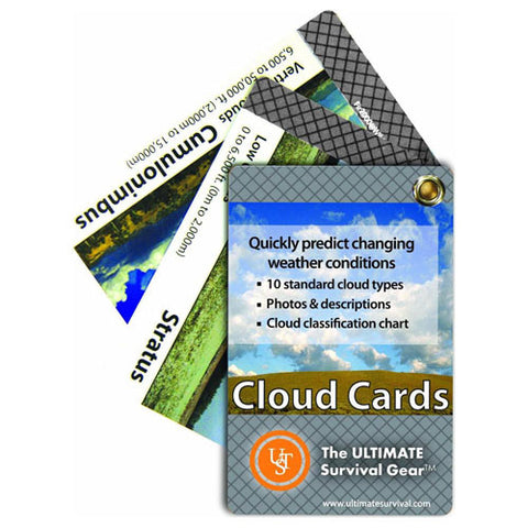 UST Learn about Clouds Cards - Nalno.com Outdoor Equipment