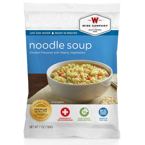 Wise Food Side Dish Chicken Noodle Soup (4 Servings)