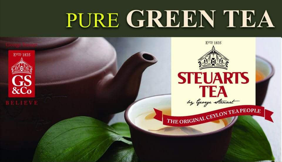 Steuarts Green Tea , 25 Count Tea Bags
