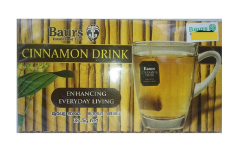 Baurs Cinnamon Drink, 25 Count Tea Bags