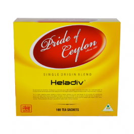 Heladiv Pride of Ceylon Tea, 100 Count Tea Bags