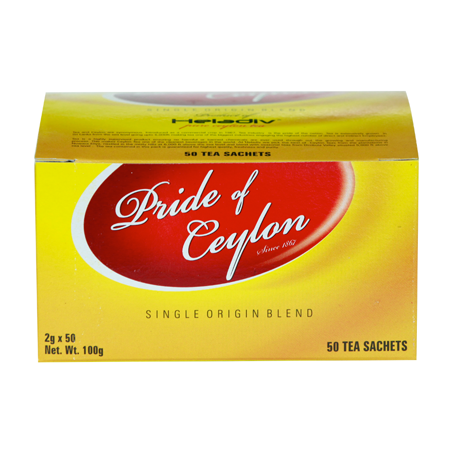 Heladiv Pride of Ceylon Tea, 50 Count Tea Bags