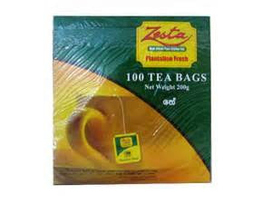 Zesta Black tea, 100 Count Tea Bags