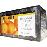 Heladiv Orange Flavoured Ceylon Black Tea, 25 Count Tea Bags