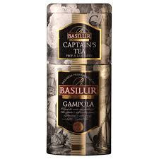 Basilur Captain's Tea Gampola Tin Caddies