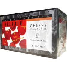 Heladiv Cherry Flavoured Ceylon Black Tea, 25 Count Tea Bags