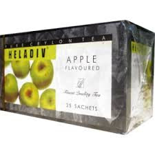Heladiv Apple Flavoured Ceylon Black Tea, 25 Count Tea Bags