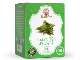 Ranfer Green Tea Flash, 20 Count Tea Bags