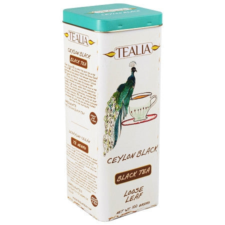 Tealia Ceylon Black Tea, Loose Tea 100g