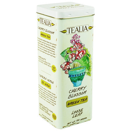 Tealia Cherry Blossom Green Tea, Loose Tea 100g