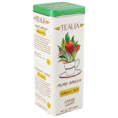 Tealia Green Tea, Loose Tea 100g