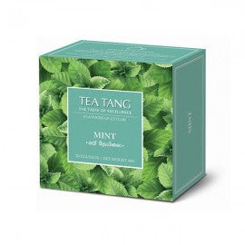Tea Tang Mint Flavoured Ceylon Black Tea, 20 Count Tea Bags