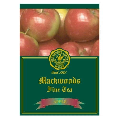 Mackwoods Apple Flavoured Ceylon Black Tea, 25 Count Tea Bags