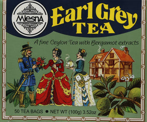 Mlesna Earl Grey Tea, 50 Count Tea Bags