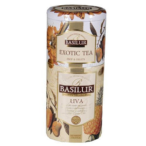 Basilur Exotic Uva Tea Tin Caddies
