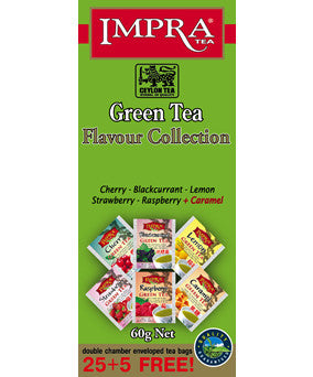 Impra Flavour Collection Green Tea, 25 Count Tea Bags