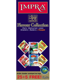 Impra Flavour Collection Ceylon Black Tea, 25 Count Tea Bags