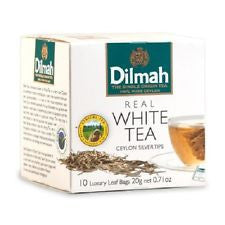 Dilmah White Tea, 10 Count Tea Bags