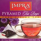 Impra Earl Grey Mallows Tea, 20 Count Tea Bags