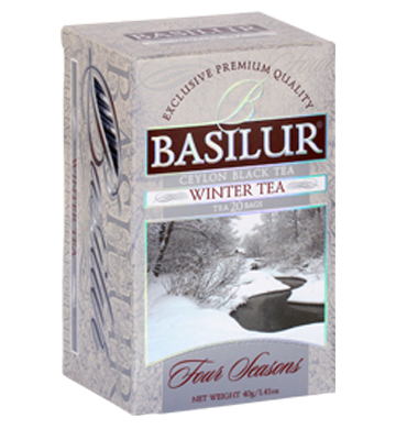 Basilur Four Seasons Winter Tea, 20 Count Tea Bags