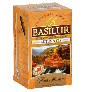 Basilur Four Seasons Autumn Tea, 20 Count Tea Bags