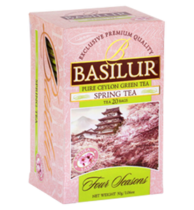 Basilur Four Seasons Spring Tea, 20 Count Tea Bags