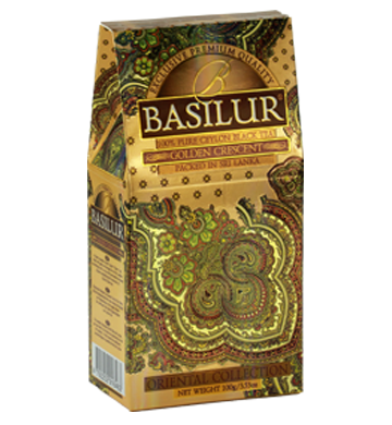 Basilur Oriental Golden Crescent Tea, Loose Tea 100g