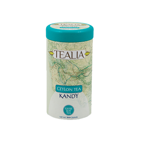 Tealia Kandy Ceylon Tea, Loose Tea 100g