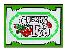 Mlesna Cherry Flavoured Ceylon Tea, 20 Count Tea Bags