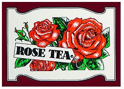 Mlesna Rose Flavoured Ceylon Tea, 20 Count Tea Bags
