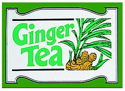 Mlesna Ginger Flavoured Ceylon Tea, 20 Count Tea Bags