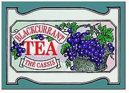 Mlesna Blackcurrant Flavoured Ceylon Tea, 20 Count Tea Bags