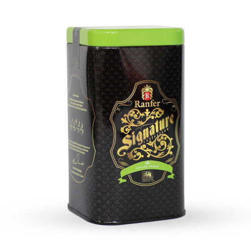 Ranfer Signature Ceylon Green Tea Tin Caddies